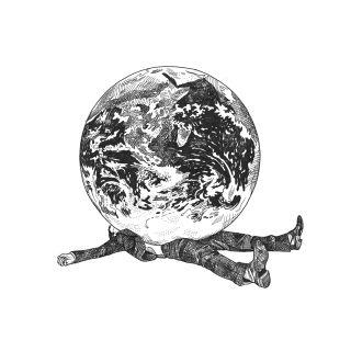 Matt Hollings In Black & White 线条