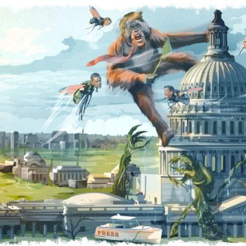 Matthew Laznicka Illustrateur rétro international. Etats-Unis