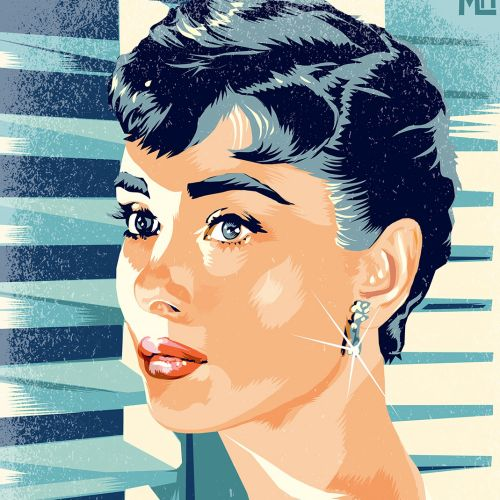 Matthew Laznicka International retro illustrator. USA