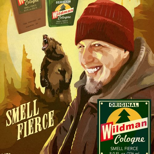 Wildman Cologne Advertising