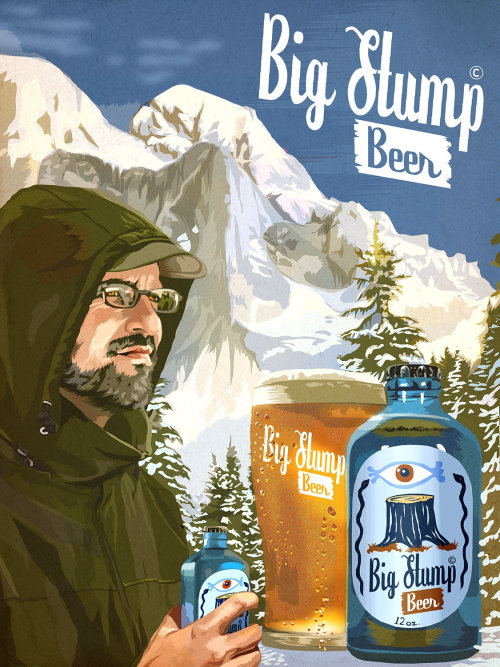 Campanha Big Stump Beer