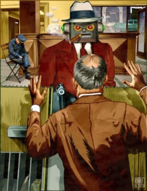 Robot Bank Heist