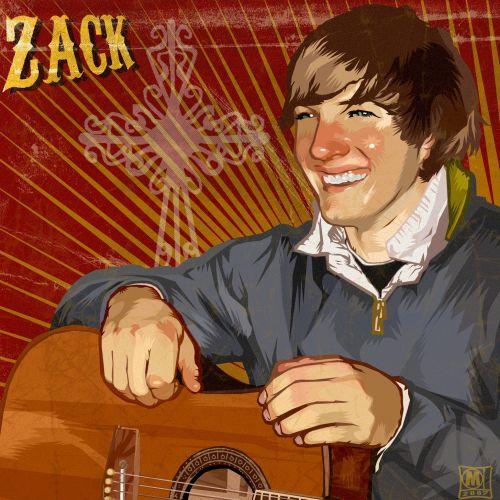 Zack realistic portrait