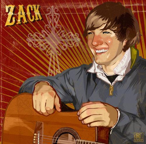 Portrait réaliste de Zack