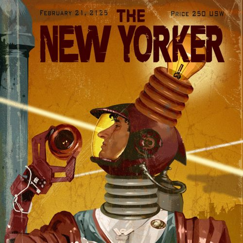 The New Yorker Retro poster
