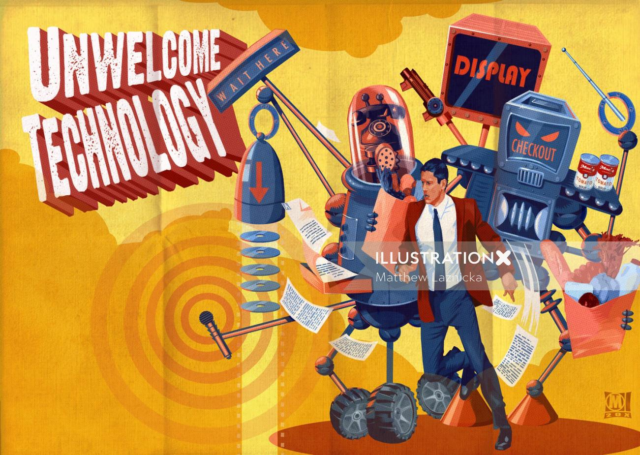 Design of Unwelcome technology