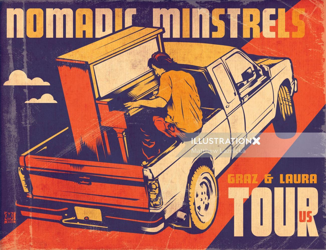 Retro Band poster