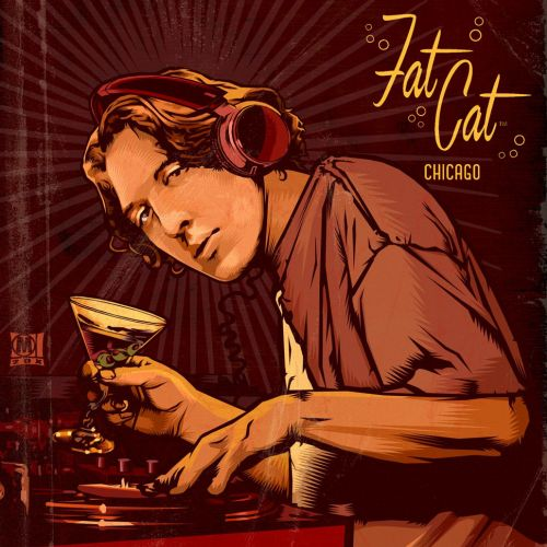 Fat Cat Chicago Poster