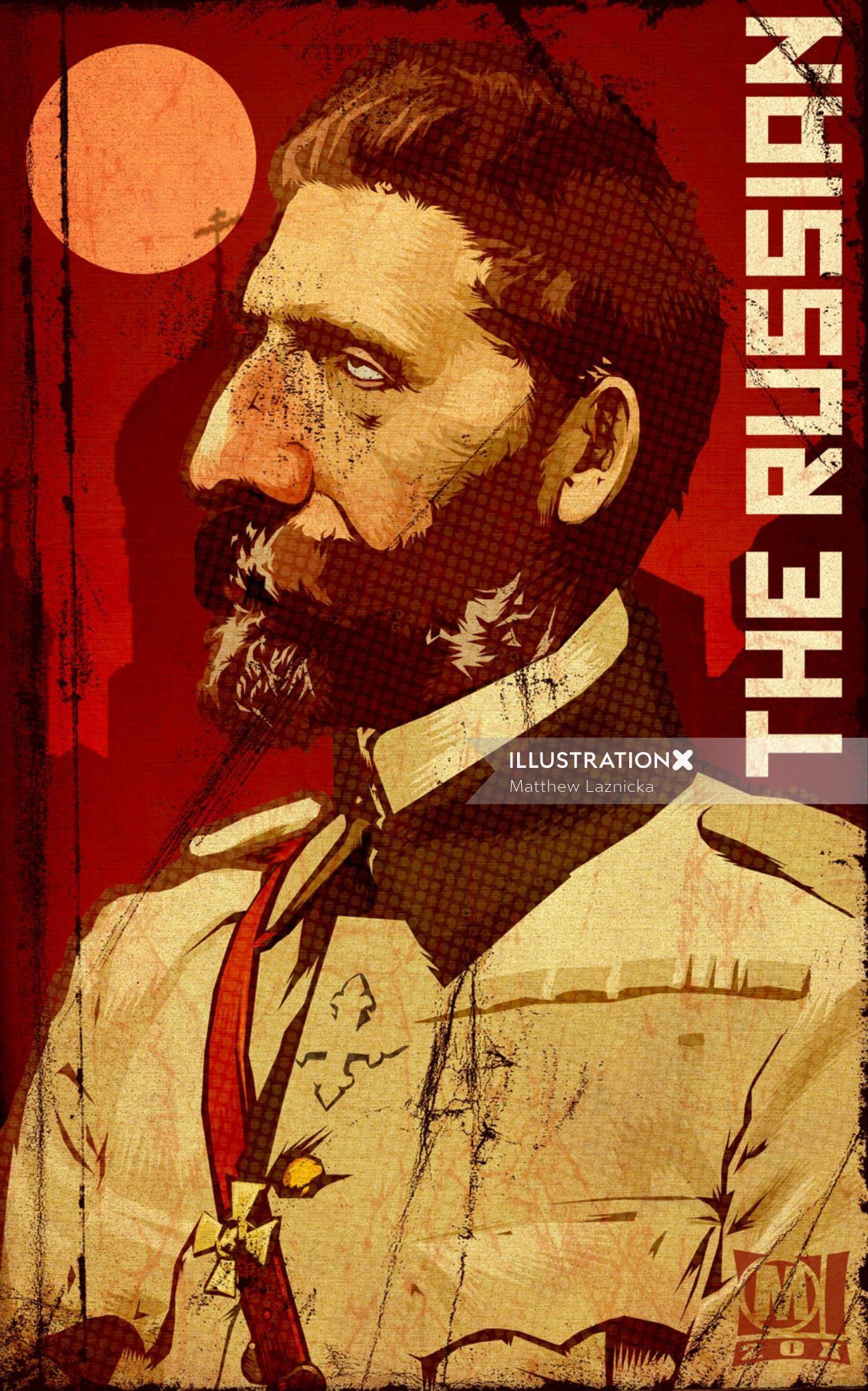 The Russian Retro Poster