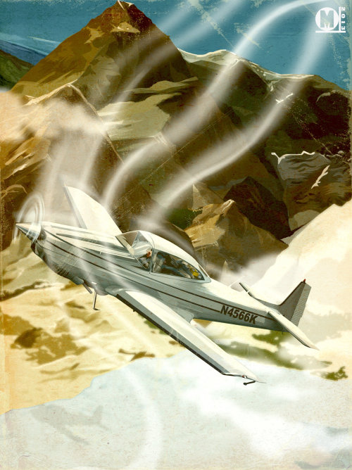 Illustration de l'avion navion