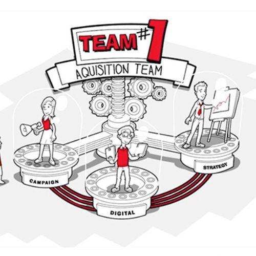 Matthew Robson created  animation for Virgin Media