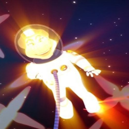 Astro Mary Fly Me To The Moon animation
