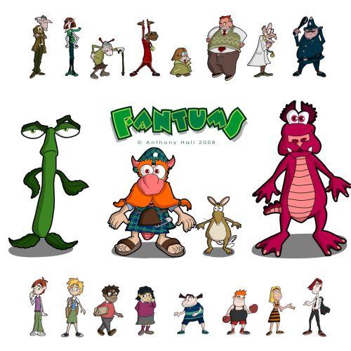 Matthew Robson Design de personagem