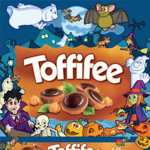 Halloween Toffifee Packaging