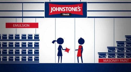 Graphic illustration of Johnstone's trade