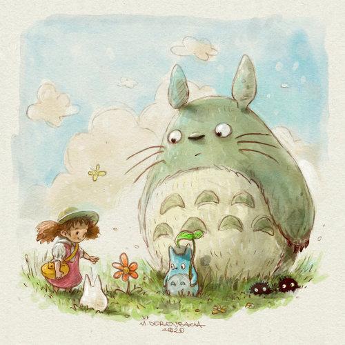 卡通与幽默的小女孩与兔子