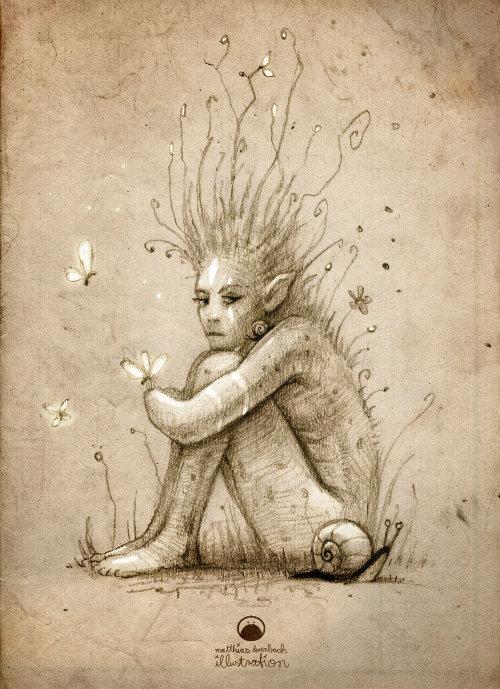 绘图的外星女人