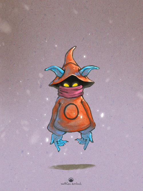 Design de personagem do personagem alienígena Orko