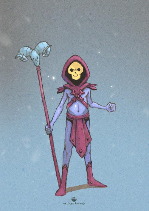 幻想骨架的角色设计