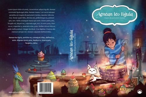 儿童书籍封面Aenean Leo Ligula