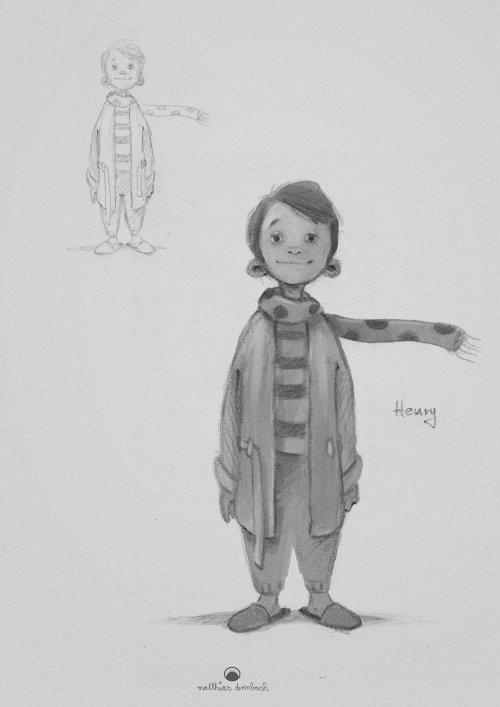 男孩的角色设计