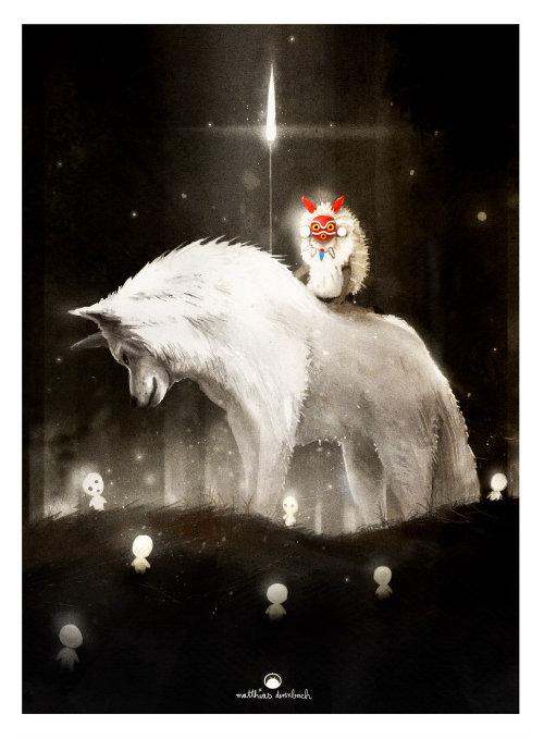 狐狸和小动物的角色设计