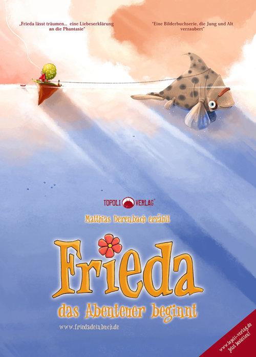 儿童书的封面弗里达