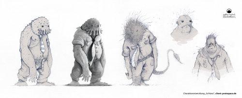 动物的卡通和幽默演变
