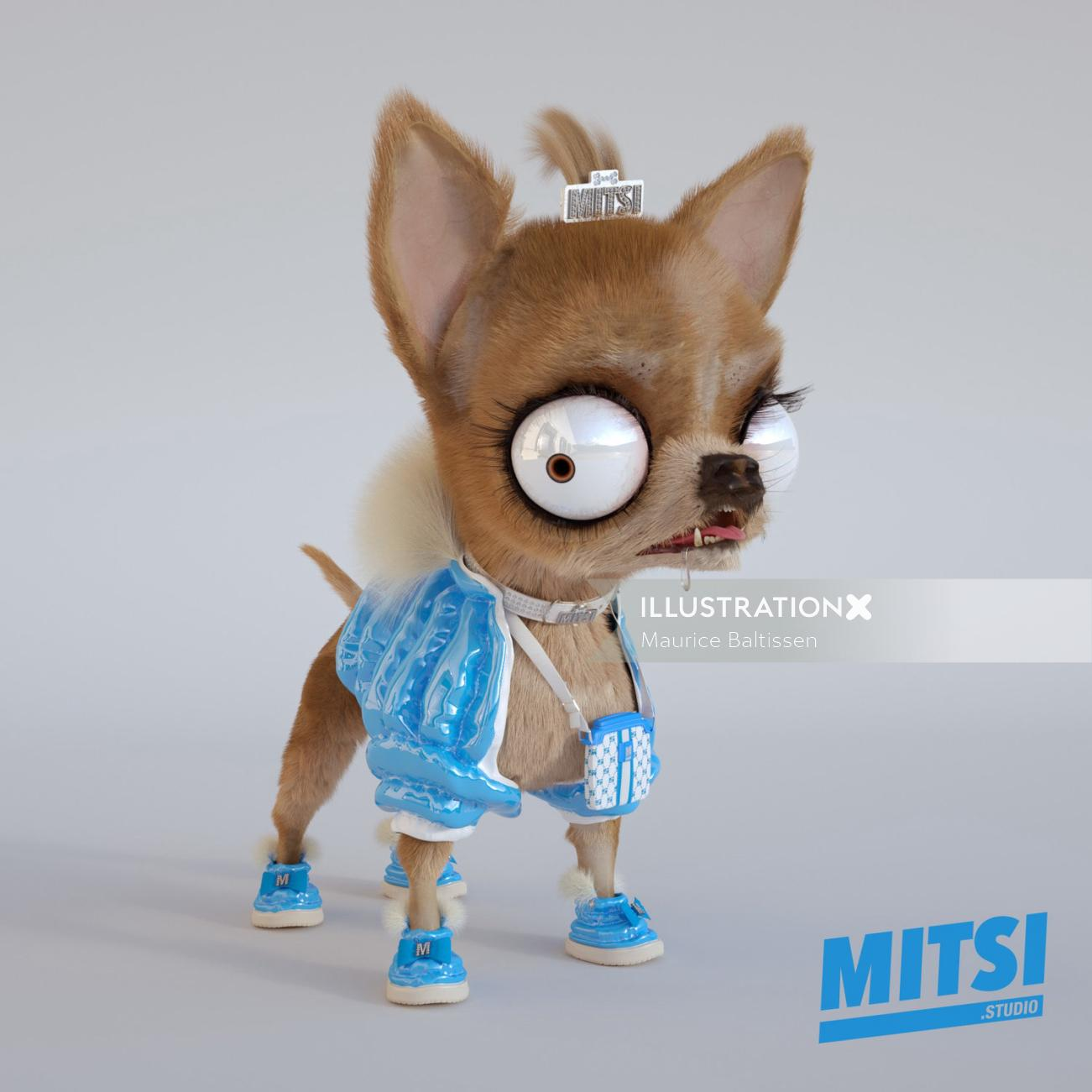 Animals funny dog MITSI