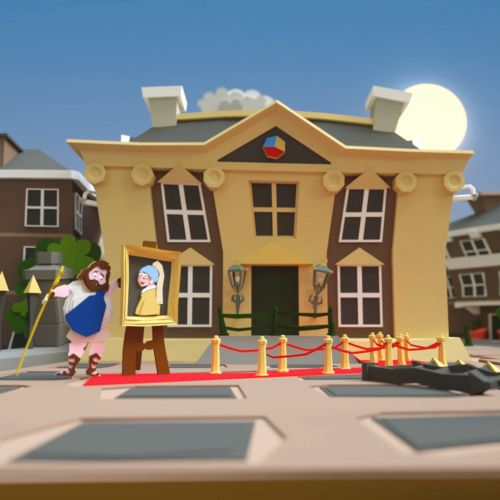 3d city house design