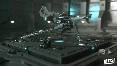 3d gun equipment