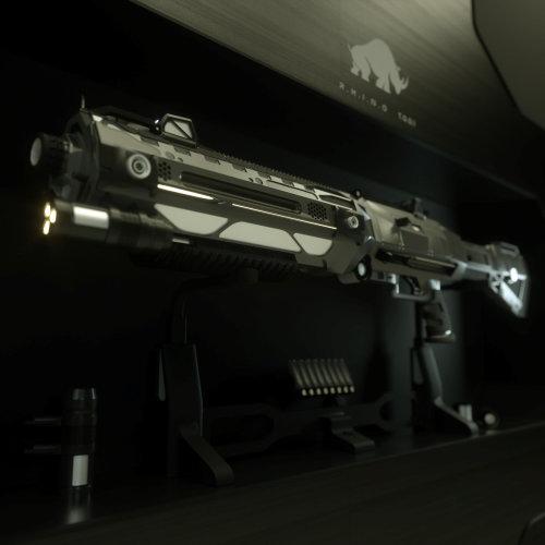 3d gun design