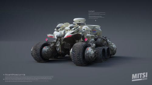3d robot car