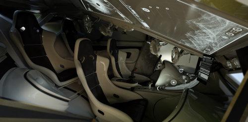 3d car interior design