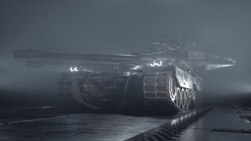 3d Heavy tank
