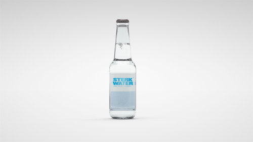 Computer Generated Sterk Water Bottle