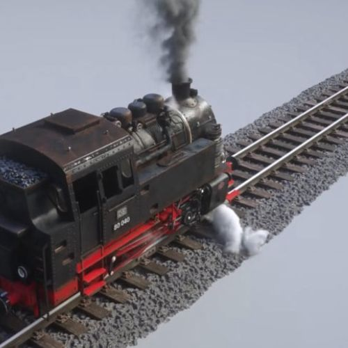 Locomotive animation by Maurice Baltissen