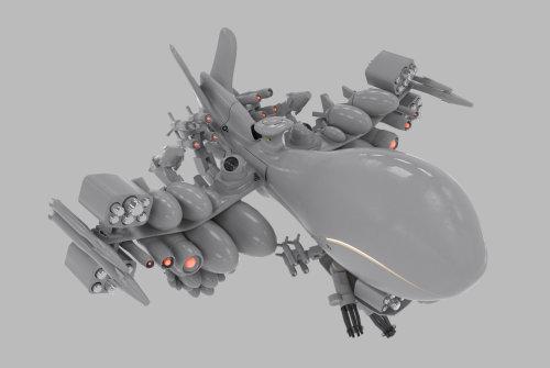 3d drone with amunition