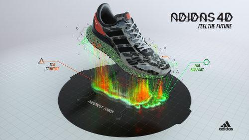 3d design shoe rendering