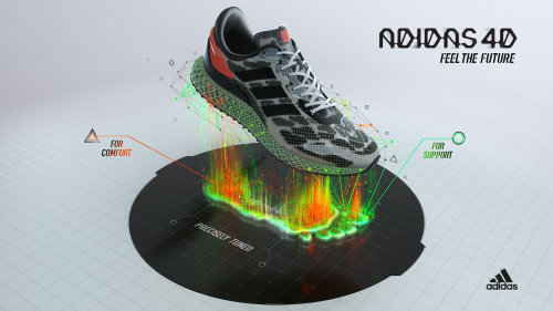 3d设计鞋渲染