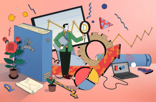 Illustration of business needs data identity