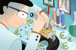 Conceptual illustration of Healthcare business in future