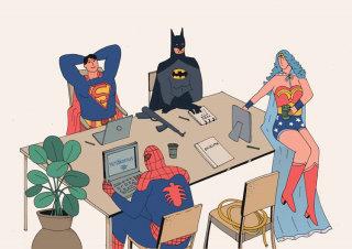 Comic illustration for Kotitalo magazine by Maxim Usik