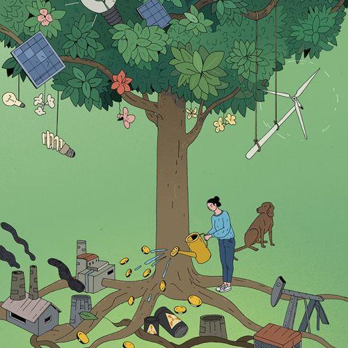 Maxim Usik Nature Illustrator from  Indonesia