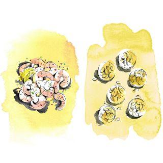 Food illustration by MayVan Millingen