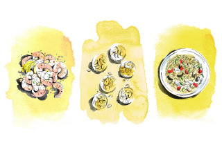 Food illustration by MayVan Millingen