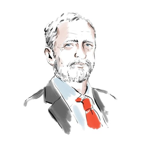 Jeremy Corby portrait