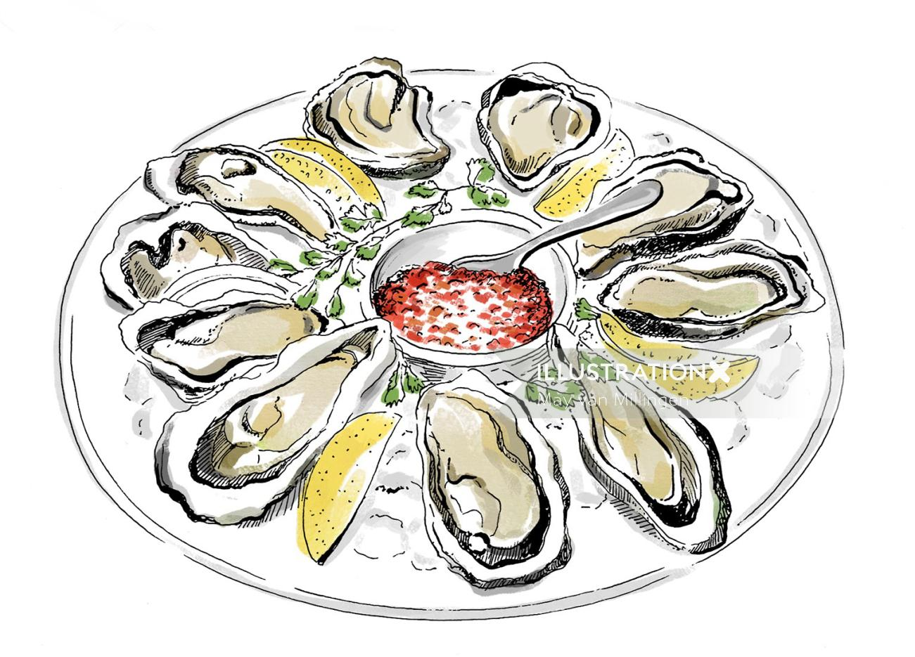 Food & Drink Oysters