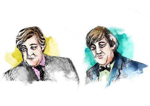 Stephen Fry illustration by May van Millingen