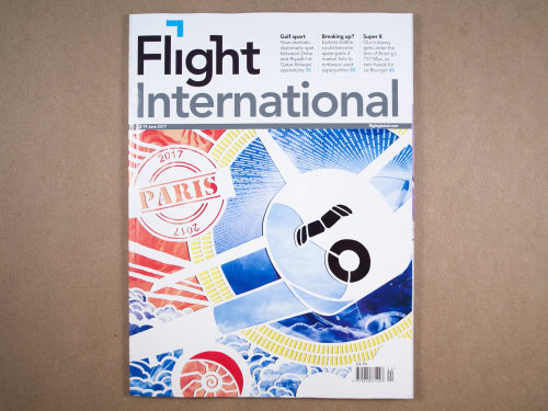 Cover Illustration For Flight International Magazine